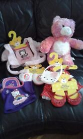 Build-a-bear various items