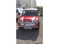 CLASSIC ROVER MINI COOPER RECENTLY REFURBISHED AND RESPRAYED NO ROT OR RUST IN VGC