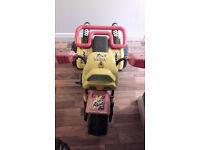 Rhino Tri Moto Yellow Trike (quad) style Bike £40