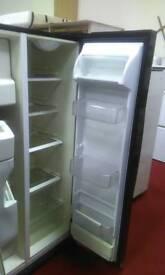 Black fridge freezer (American style) tcl 13653