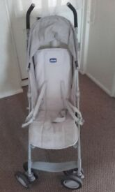 Chicco city stroller- cream/grey
