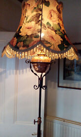 vintage (antique) stand lamp