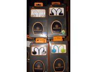 Bankrupt/Job lot/Wholesale 70 x Branded In Ear Headphones with OnLine Mic
