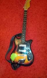 Vintage Kay Tiesco electric guitar