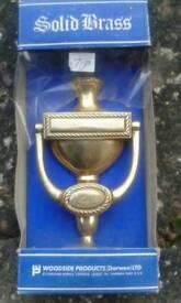 Brass door knocker New