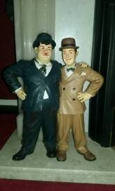 laurel and hardy 1995 figurine