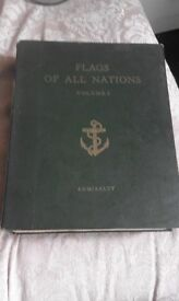 flags Of all nations volume I Admirality.