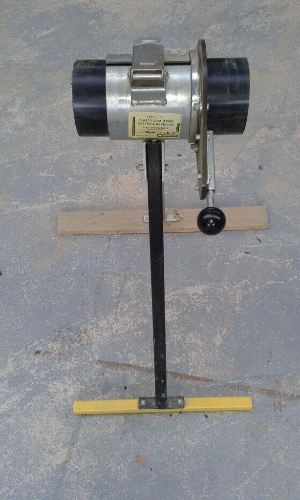 Monument 110mm pipe cutter