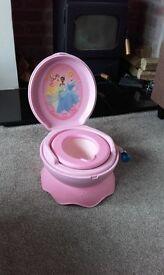 Princess musical potty
