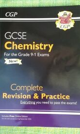 CGP Chemistry GCSE Complete Revision & Practice Textbook (for Grades 9 - 1)