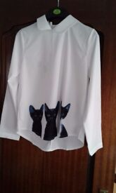 Brand new blouse 10 to 12