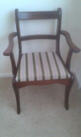 CARVER CHAIR IN GOOD CONDITION