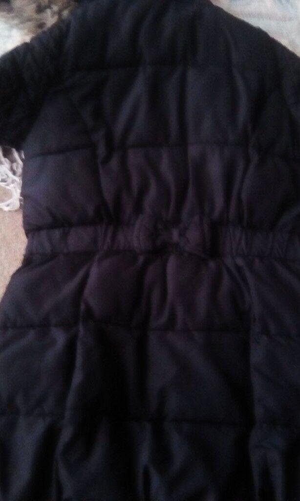 Girls age 10-11 black winter coat