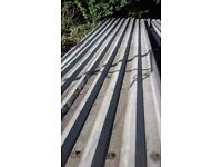 box profile roofing sheets and barge boards 6.0 long x 1.0 wide