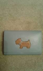 Radley blue and beige purse