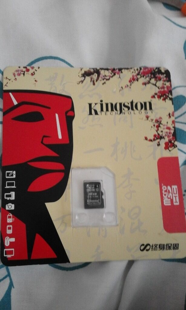 kingston memory card 16gb for phonesin High Wycombe, BuckinghamshireGumtree - kingston memory card 16gb for phones Kingston 16GB Micro SD (BRAND NEW) came with my new phone u can use it in phones and other devices brand new for £5 cash on collection in high wycombe 07881370037