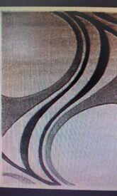 grey mirage rug size 200x290 vgc