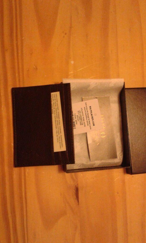 Ralph Lauren credit card wallet