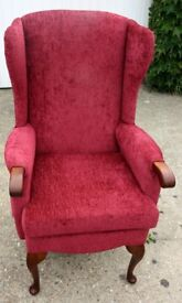 Royams Appleby High Back Chair with power lift seat - electrically operated