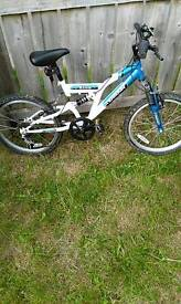 "20"" Wheel Terrain Etna Mountain Bike"