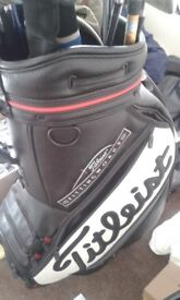 Full Set of Golf Clubs with Taylormade Driver & 3wood