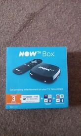 Now tv box brand new in box