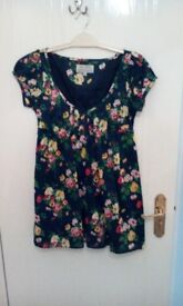 Jack Wills Size 10 Floral Dress (never worn)