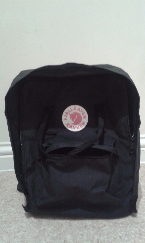 fjallraven kanken backpack used
