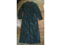 female Long Leather Coat, suit Goth , Steampunk etc £70 ono
