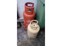 Propane and Butane Gas cylinders ( empty)