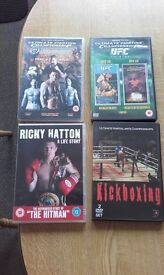4 x Boxing DVDs ( Total 7 Discs )
