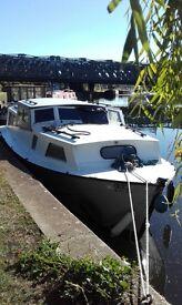 Broads cruiser project boat