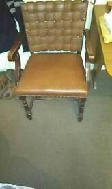 Antique/vintage ? Old original scottish or viking? Chair for sale £100 ono