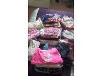 large bundle of girl clothes 4 5 6 years