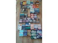 50 Books (Job Lot) Mainly Crime Thriller