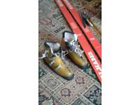 Vielhaber and Smith skis boots and poles