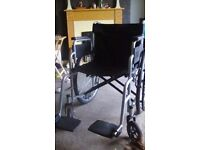 Wheelchair in excellent condition only use 4 times