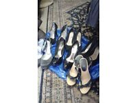 6 pairs of shoes for £10