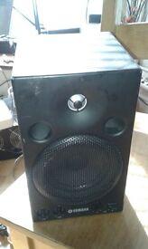 Yamaha MSP3 2-way powered Studio Monitor Speakers pair