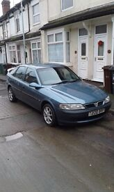 Vauxall vectra 1,8petrol start and drive