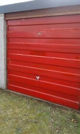 Lock up garage for sale in Forres