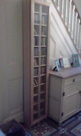 Tall CD cupboard