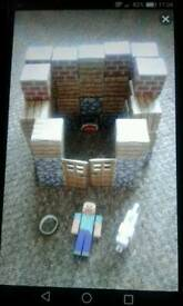 MINE CRAFT PAPERCRAFT SHELTER PACK.