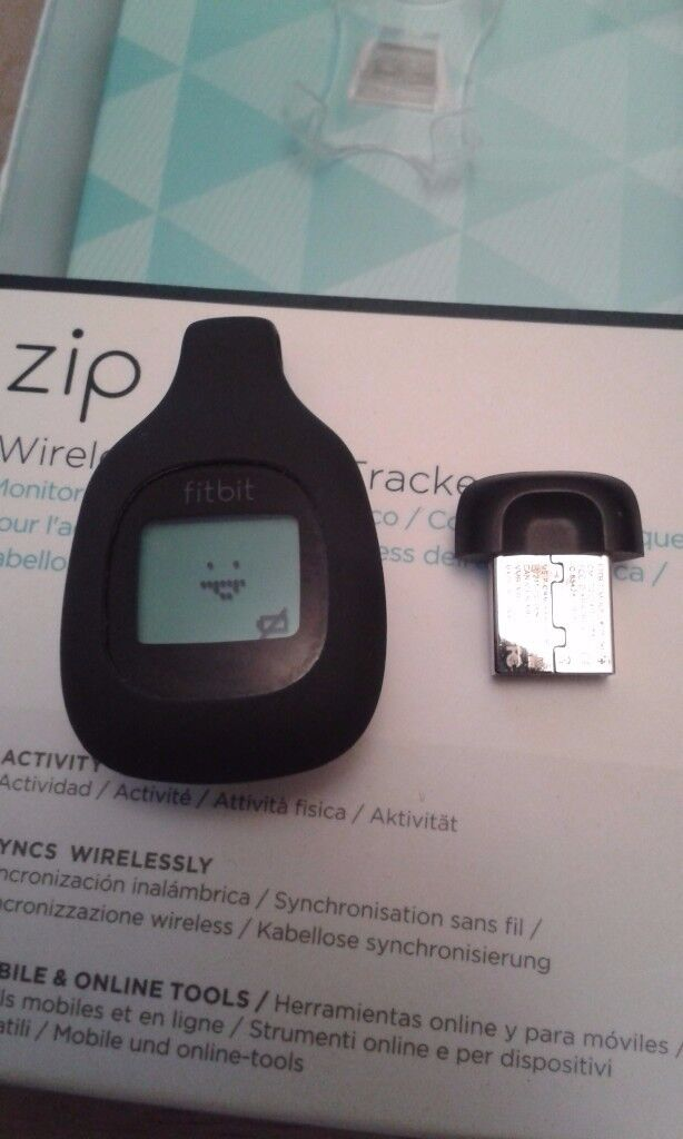 Zip Fitbit hardly used and in excellent condition £20