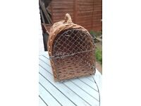 Cat Pet Basket Carrier