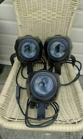 3x Acme LittLed Dmx lights