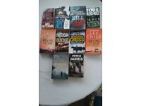James Patterson, Peter James & Lee Child Books for Sale