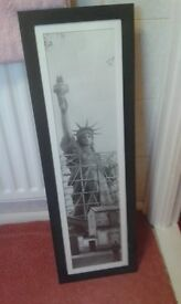 large picture of the statue of liberty ,