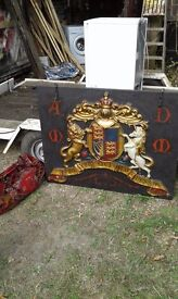 Coat of Arms. Theatrical prop. Circa 2000