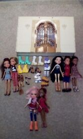 Dolls house and dolls